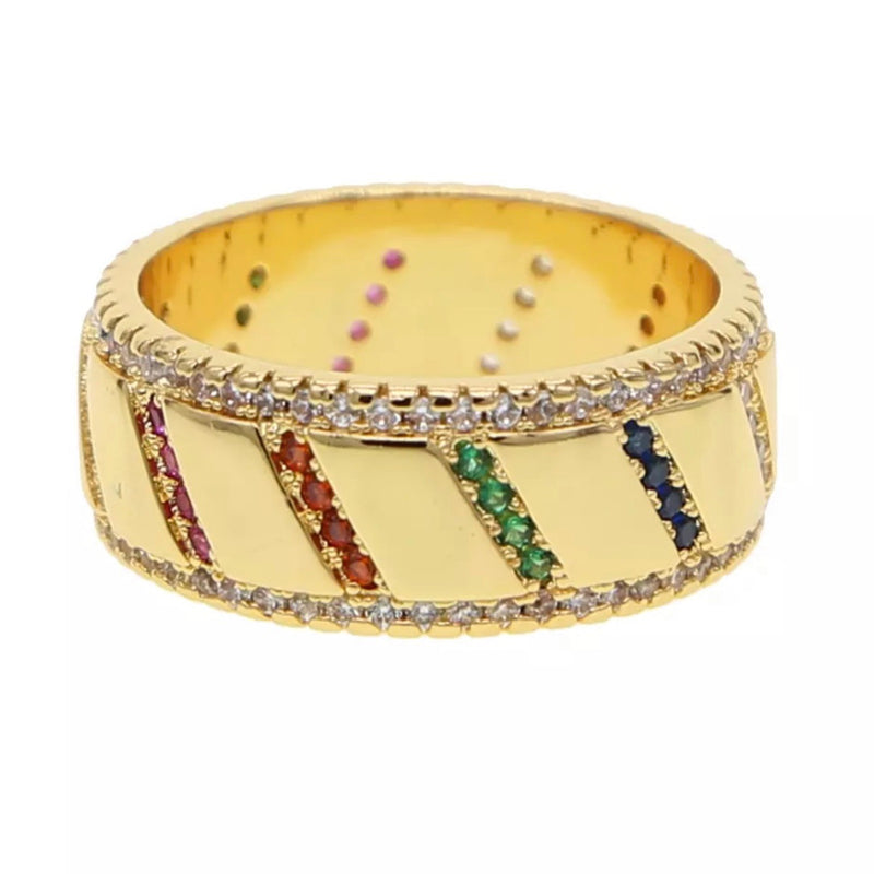 PENELOPE RAINBOW RING