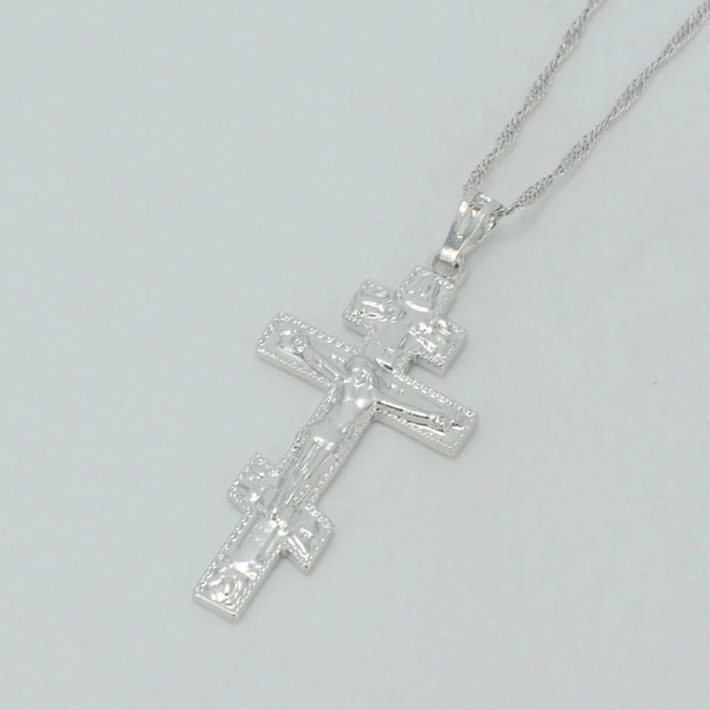 THEA CROSS NECKLACE