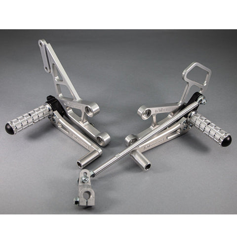 05-0335 Honda CBR600RR Rearsets w/Shift Pedal - Woodcraft Technologies - Motorcycle Parts