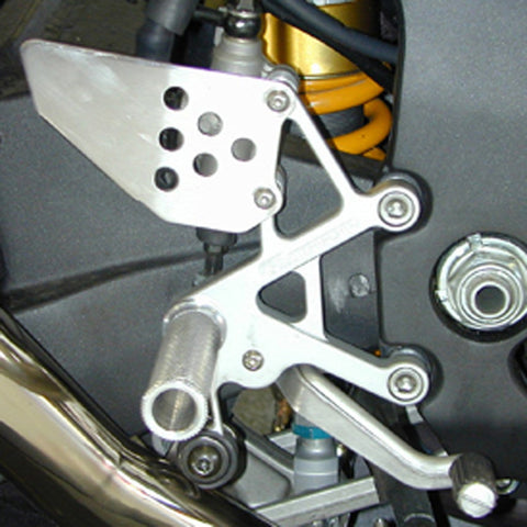 05-0340 Honda RC51 Rearsets - Woodcraft Technologies - Motorcycle Parts