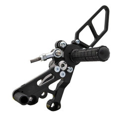 05-0652B Ducati 821 Hypermotard Complete Rearset - Woodcraft Technologies - Motorcycle Parts