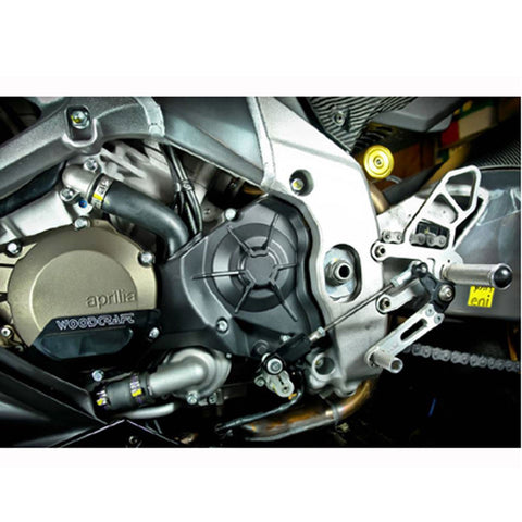 05-0741B Aprilia RSV4 APRC/Tuono V4 2011-16 GP Shift Complete Rearset - Woodcraft Technologies - Motorcycle Parts