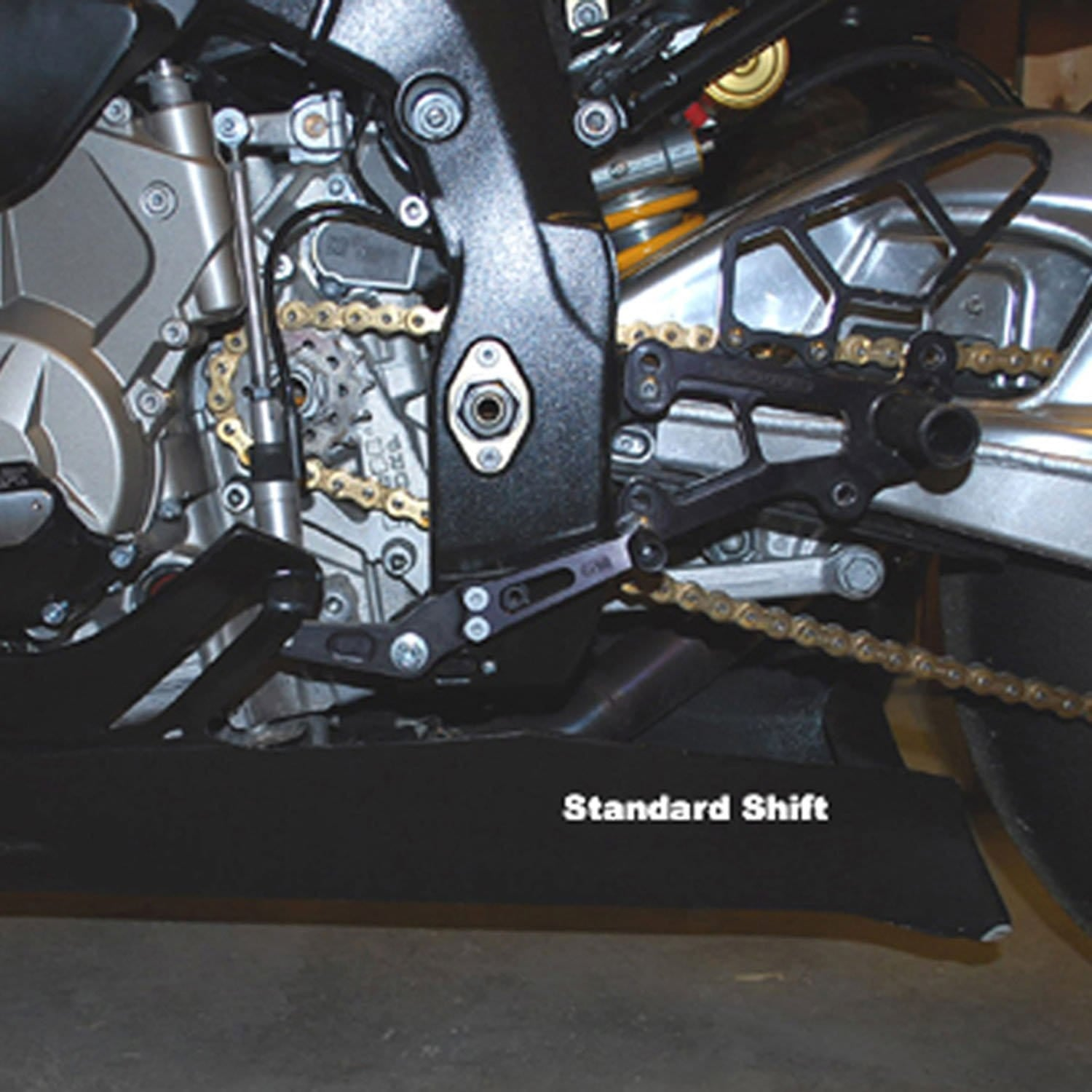 05-0752B BMW S1000RR Complete Rearset  RACE ONLY - Woodcraft Technologies - Motorcycle Parts