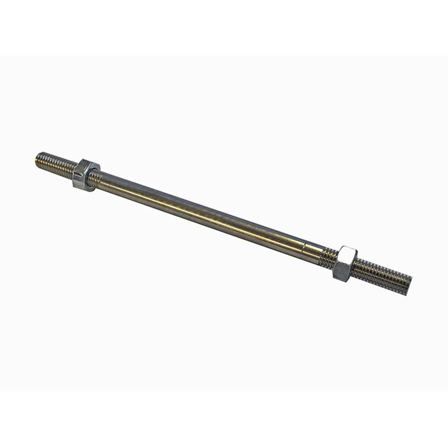 07-0775 Shift Rod 7-3/4 male SS W/Free Flow Nuts - Woodcraft Technologies - Motorcycle Parts
