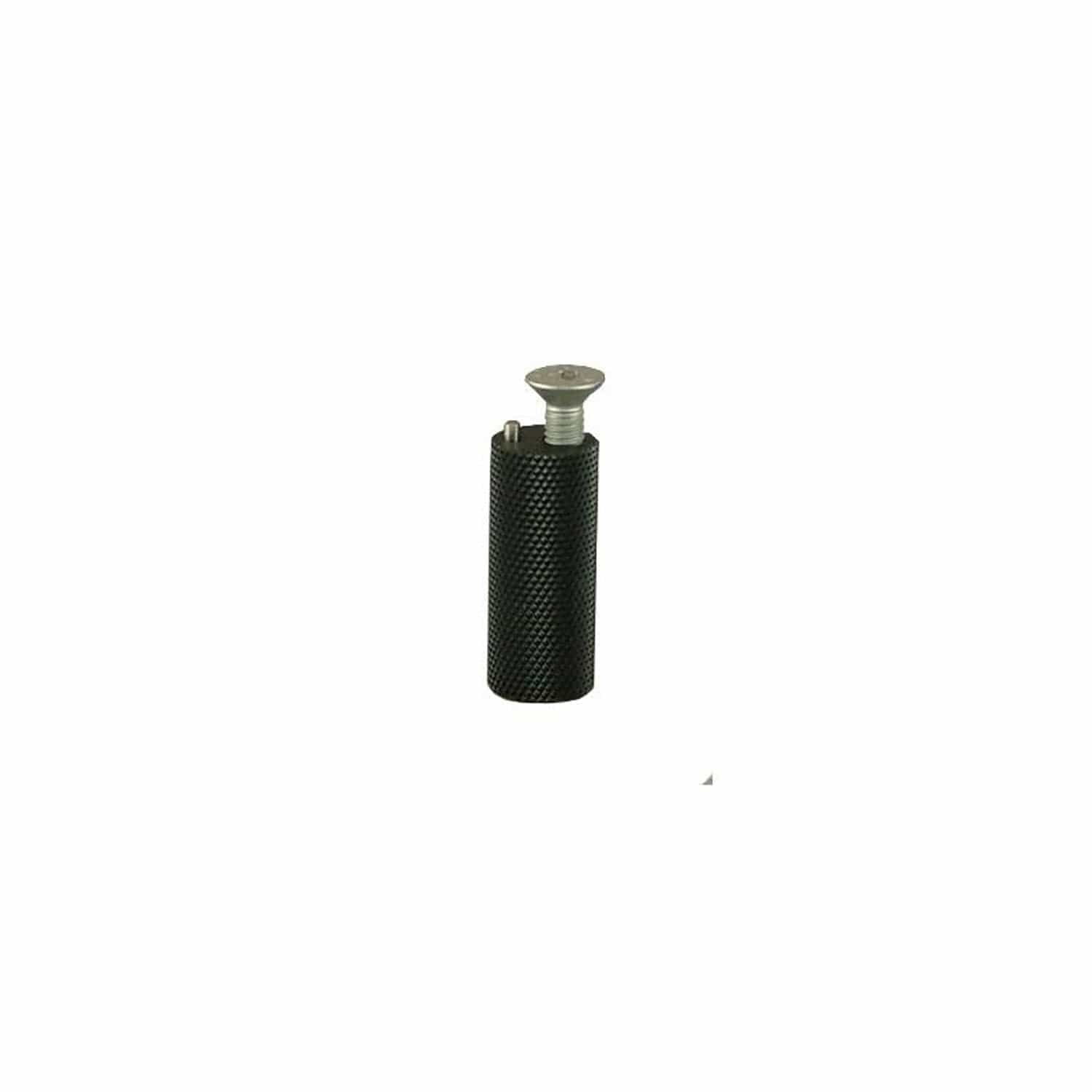 08-4899 Adjustable Pedal Tip- Black W/ FH Bolt (04-FH620Z) - Woodcraft Technologies - Motorcycle Parts