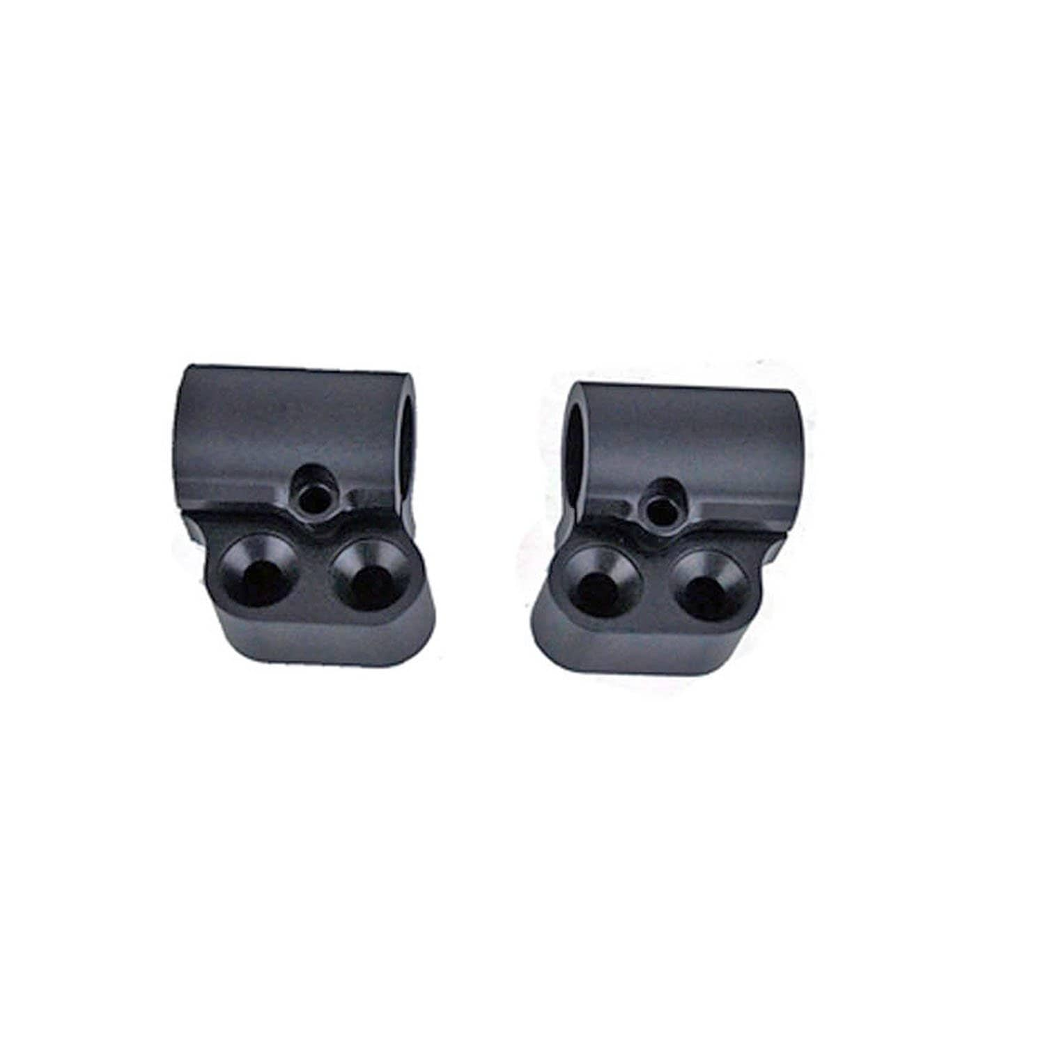 12-1590-10B Offset Clipon Riser Set - 1 inch - Woodcraft Technologies - Motorcycle Parts