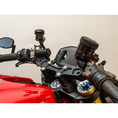 Clipon Adapter Plate w/ XL Black Bars Ducati Monster 821 2014-16