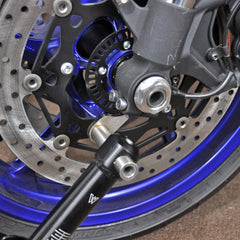 26-0305 - Under Fork Front Stand - Pin Lift Style - Woodcraft Technologies - Motorcycle Parts