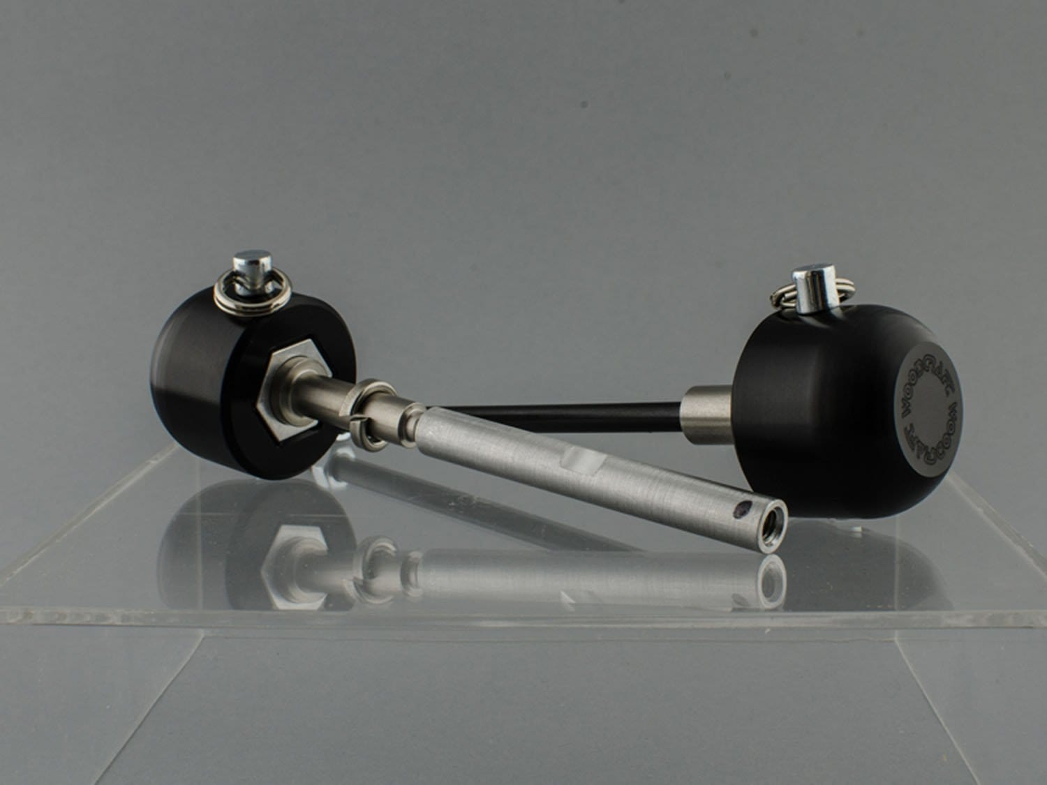 45-0407F Yamaha Front Axle Slider Kit - FZ07 '15-18 - Woodcraft Technologies - Motorcycle Parts