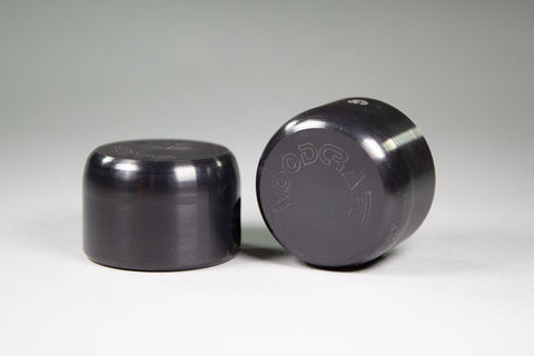 Shorty 1199 Slider Puck, Black Plastic - Woodcraft Technologies - Motorcycle Parts