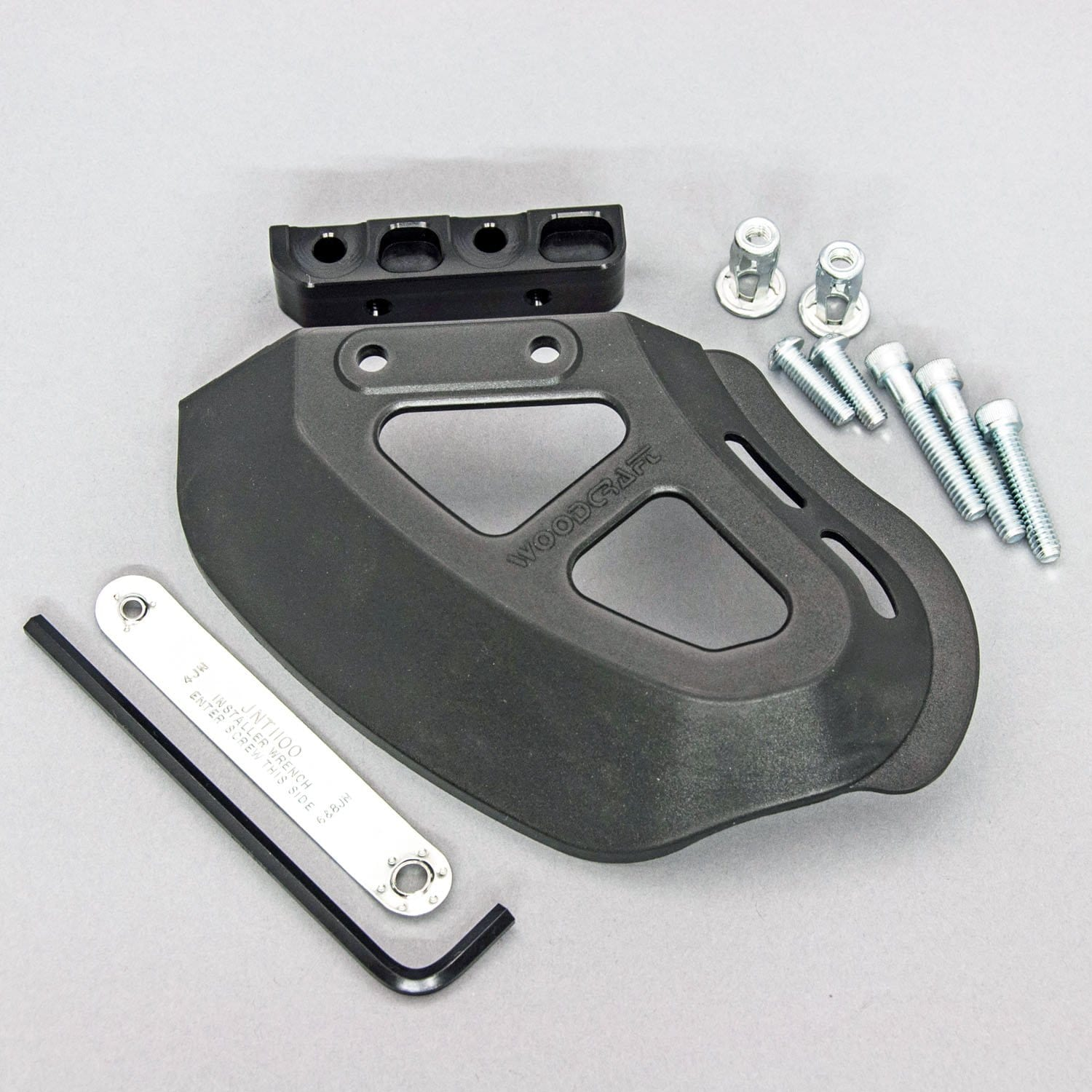 55-1100 Woodcraft Wide Coverage Toe Guard Kit - Woodcraft Technologies - Motorcycle Parts