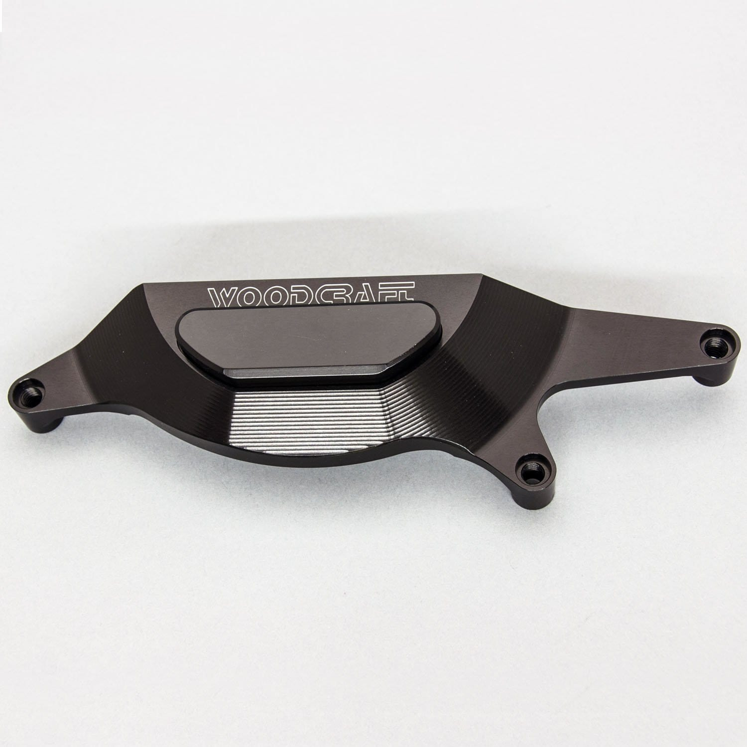 60-0144RC Kawasaki EX 400 Ninja 400 RHS Clutch Cover Protector - Assembly - Woodcraft Technologies - Motorcycle Parts