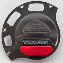 60-0641RB Ducati Wet Clutch RHS Clutch Cover Protector - Woodcraft Technologies - Motorcycle Parts