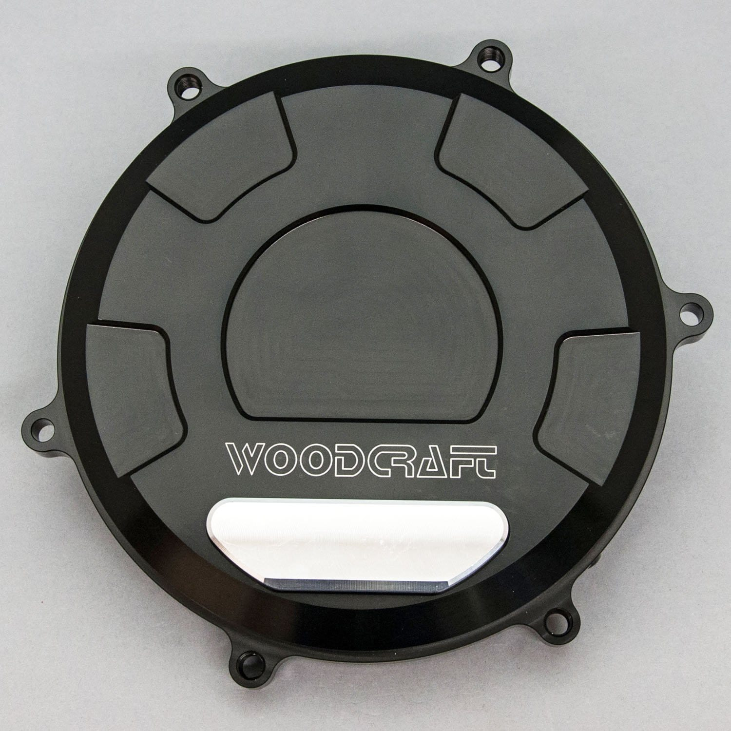 60-0645RB Ducati 1199/1299/959 Panigale RHS Clutch Cover - Woodcraft Technologies - Motorcycle Parts
