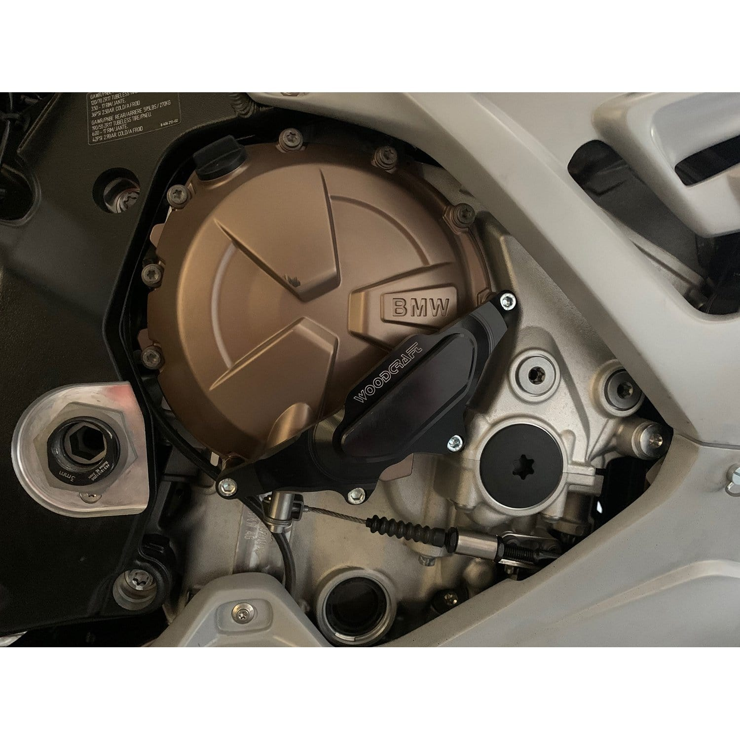 2020 BMW S1000RR Clutch Cover Protector