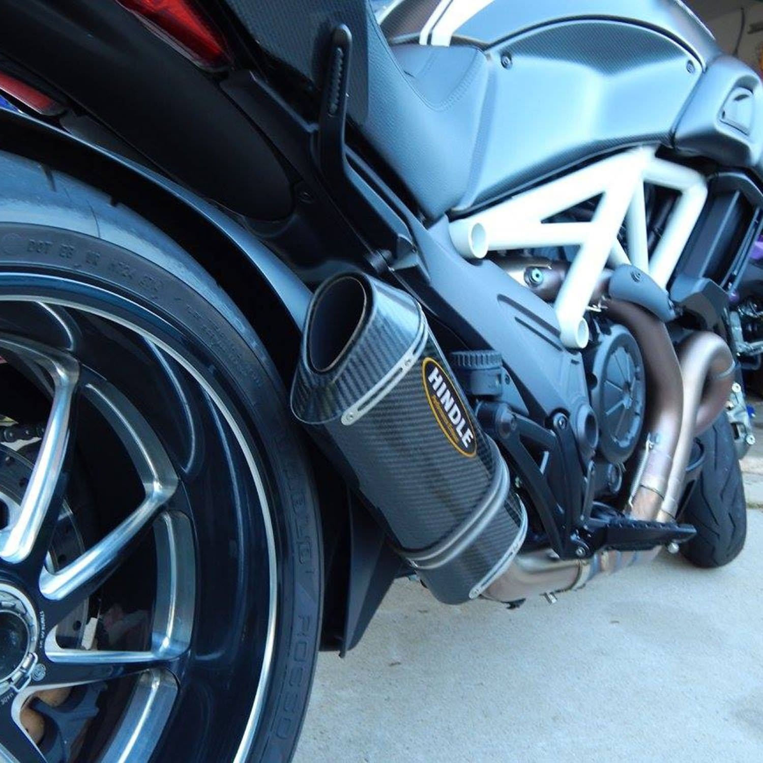 Hindle Evolution Slip-on System Ducati Diavel 2011-20