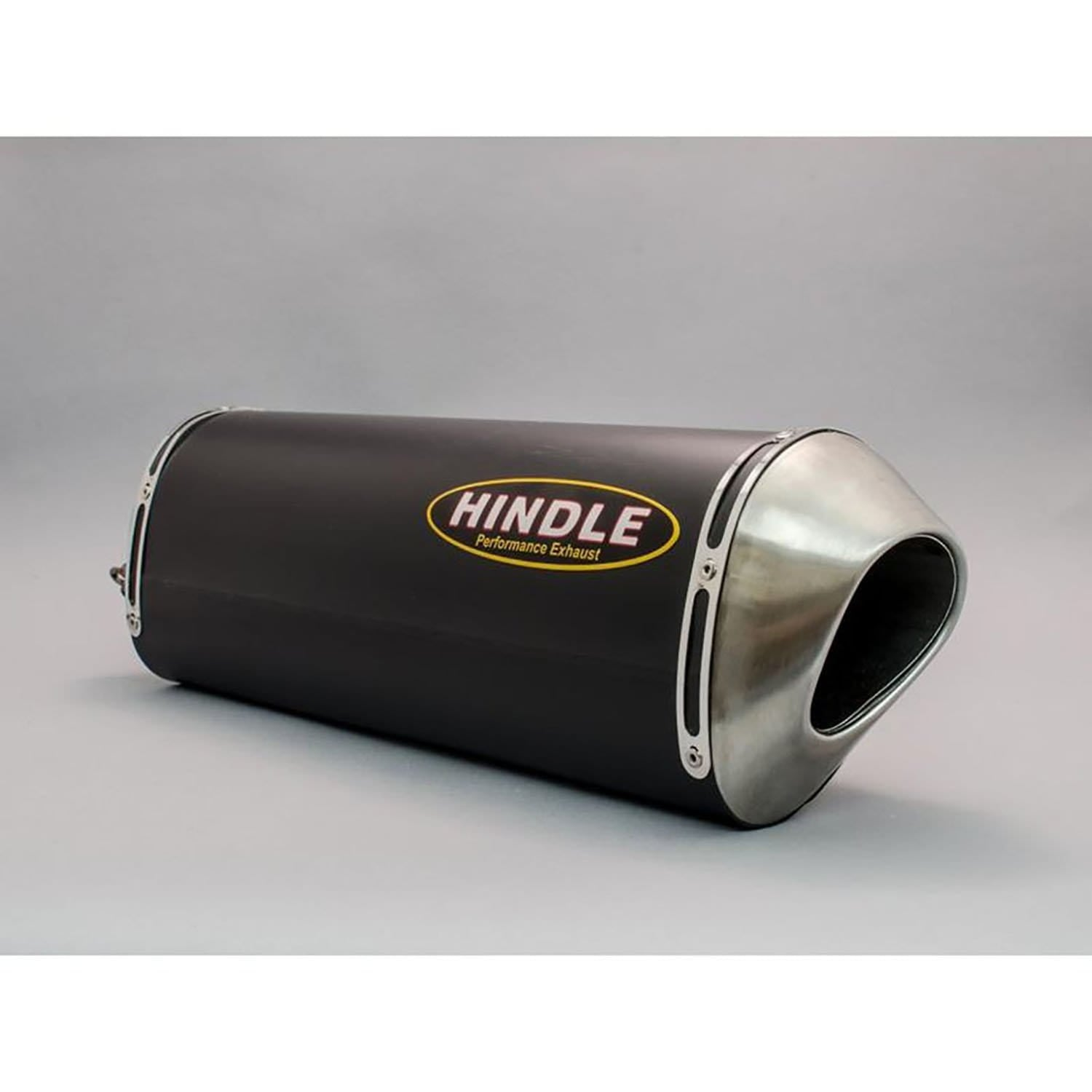"Hindle Evolution 14""x2"" Muffler - LHS - Louden Clear Designs"
