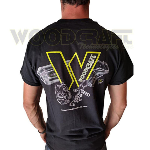99-0100 Woodcraft T-Shirt - Woodcraft Technologies - Motorcycle Parts