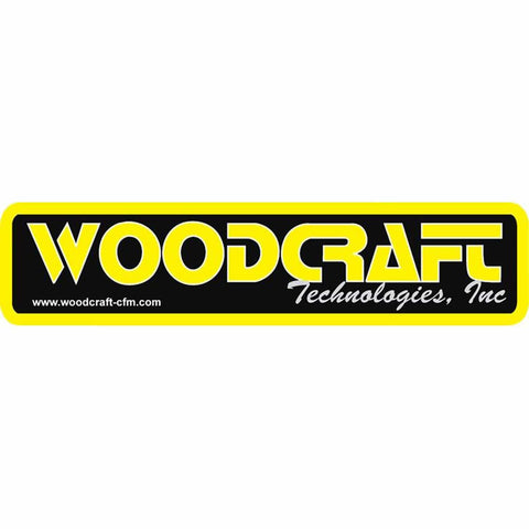Woodcraft-CFMotorsports Large Trailer Decal (14.375x3.875)