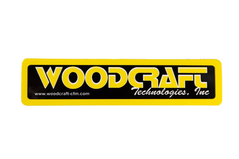 Woodcraft Tech, Inc. AMA sized decal 4x1 - Woodcraft Technologies - Motorcycle Parts