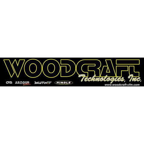 Woodcraft Banner 1' x 5' - Woodcraft Technologies - Motorcycle Parts
