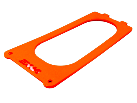 DNA KTM 690 SMC Stage 2 Air Box Filter Cover (2008+) (Flo Orange)