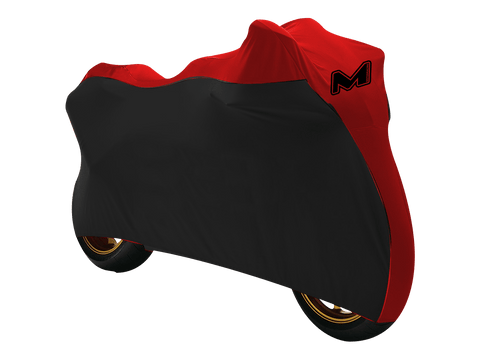 MOTO-D Motorcycle Cover for Sportbikes (Indoor / Outdoor) Red
