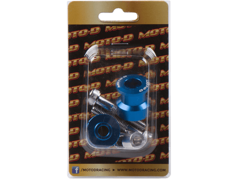 MOTO-D Swingarm Spools (8mm) - Blue