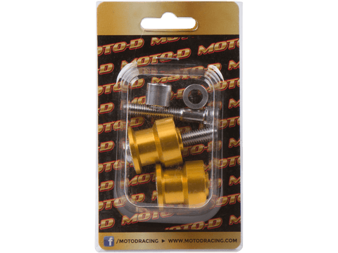 MOTO-D Swingarm Spools (8mm) - Gold