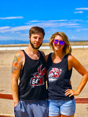 64 Degree Racing Dragon Logo Tank Top