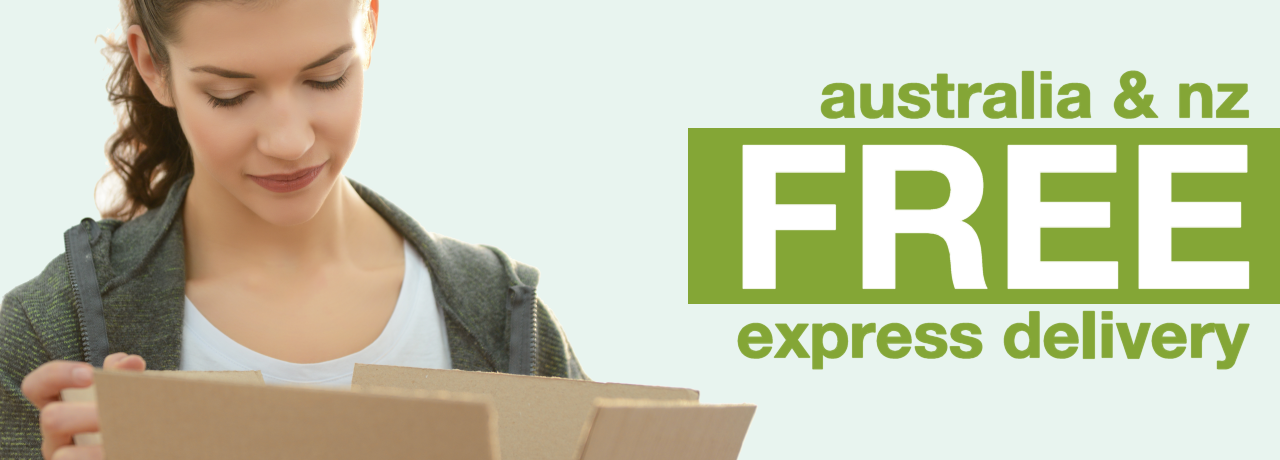 Free Express Shipping In Australia & New Zealand