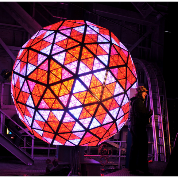 The Times Square Ball Drop