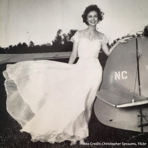 The More You Know: Parachute Wedding Dresses