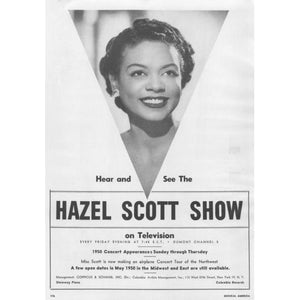 Women in History: Hazel Scott, A Musical Pioneer