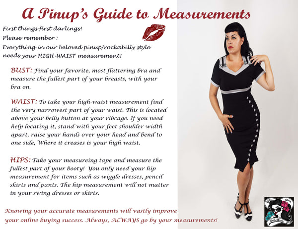 Measurement Guide feat. Miss Sarah D.