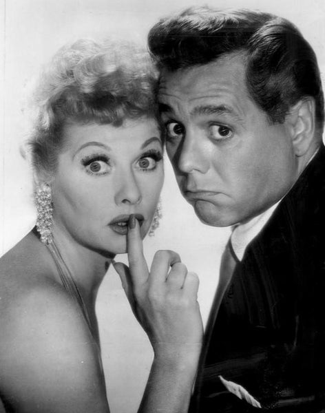 Lucille Ball & Desi Arnez, 1957 (Wikipedia Commons)