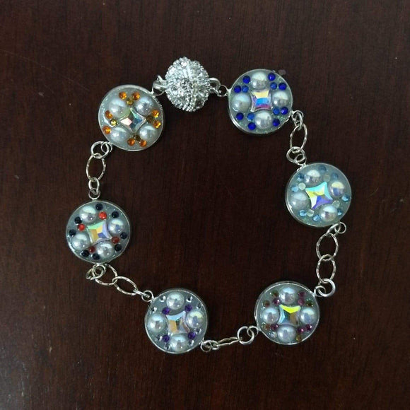 Aye Que Chula Charm Bracelet-Bracelet-Glitz Glam and Rebellion GGR Pinup, Retro, and Rockabilly Fashions