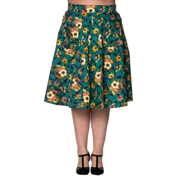 Banned Day Trip Skirt-Skirts-Glitz Glam and Rebellion GGR Pinup, Retro, and Rockabilly Fashions