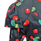 GGR Cherries Jacket-Jacket-Glitz Glam and Rebellion GGR Pinup, Retro, and Rockabilly Fashions