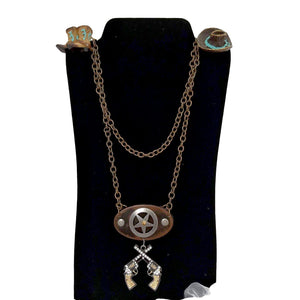 Aye Que Chula Western Necklace-Aye Que Chula-Glitz Glam and Rebellion GGR Pinup, Retro, and Rockabilly Fashions