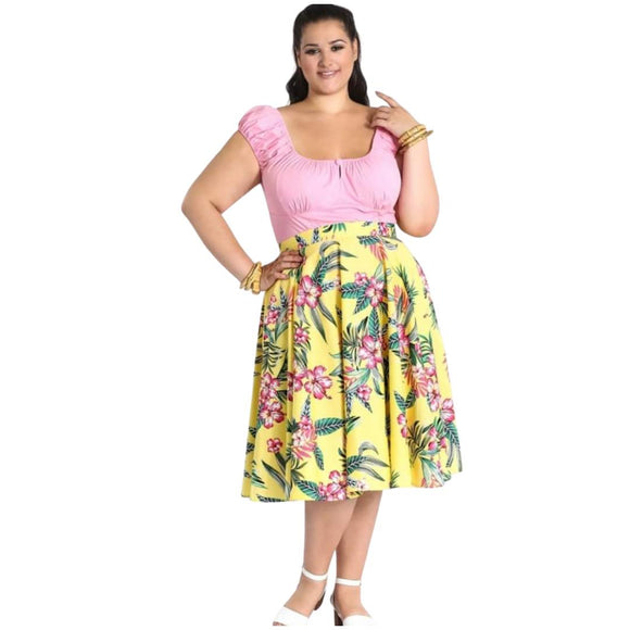 Hell Bunny Kalani 50's Skirt-Dress-Glitz Glam and Rebellion GGR Pinup, Retro, and Rockabilly Fashions