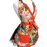 Hemet Senoritas Apron-Pinup Aprons-Glitz Glam and Rebellion GGR Pinup, Retro, and Rockabilly Fashions