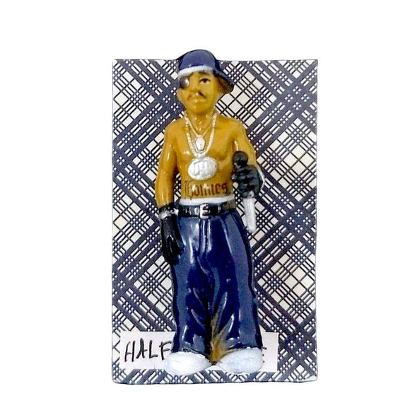 Homies Half a Home Pin-Aye Que Chula-Glitz Glam and Rebellion GGR Pinup, Retro, and Rockabilly Fashions