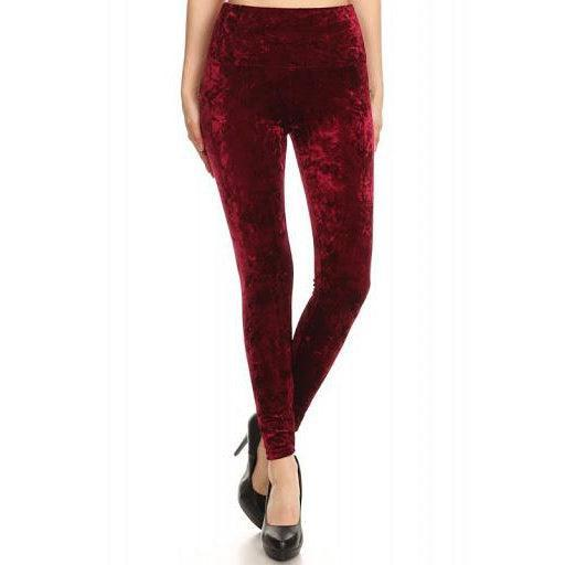 Red Velvet Pants-Pants-Glitz Glam and Rebellion GGR Pinup, Retro, and Rockabilly Fashions