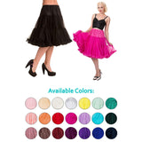 update alt-text with template Banned 'Starlite' Classic Length Petticoat-Petticoat-Glitz Glam and Rebellion GGR Pinup, Retro, and Rockabilly Fashions