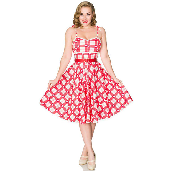 Timeless London Heartbreaker Valentine Dress-Swing Dress-Glitz Glam and Rebellion GGR Pinup, Retro, and Rockabilly Fashions