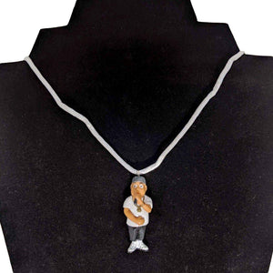 Homies Rapper Necklace-Aye Que Chula-Glitz Glam and Rebellion GGR Pinup, Retro, and Rockabilly Fashions