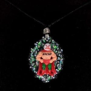 Homies Macho Man Necklace-Aye Que Chula-Glitz Glam and Rebellion GGR Pinup, Retro, and Rockabilly Fashions