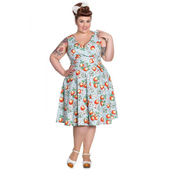 Hell Bunny Somerset Dress-Dress-Glitz Glam and Rebellion GGR Pinup, Retro, and Rockabilly Fashions