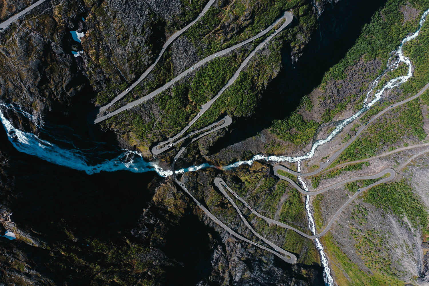 Trollstigen 11 hairpin bend, Norway